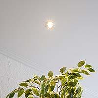 deckenbeleuchtung-einbaustrahler-spots-plameco-spanndecke-wohnzimmerdecke