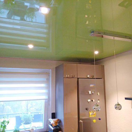Grüne Decke Lackspanndecke von PLAMECO Spanndecken Hartenstein in Oberhausen