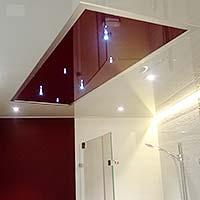 PLAMECO Badezimmerdecke nach Wunsch gestaltet