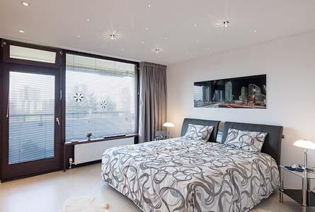Schlafzimmerdecke PLAMECO Oberhausen - Spanndecke im Schlafzimmer - Schlafzimmerdecke renovieren